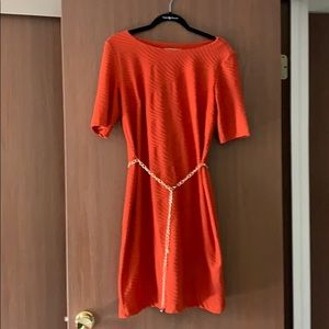 Orange Sandra Darren dress